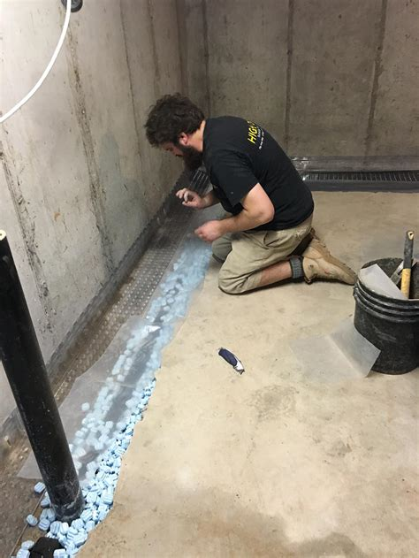 wet basement we have interior waterproofing systems that