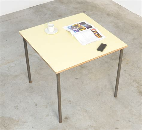 industrial square coffee square industrial coffee table for sale at pamono