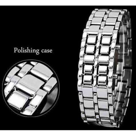 Jam Tangan Pria Ripcurl Pessaro Silver skmei jam tangan led pria 8061g silver blue jakartanotebook