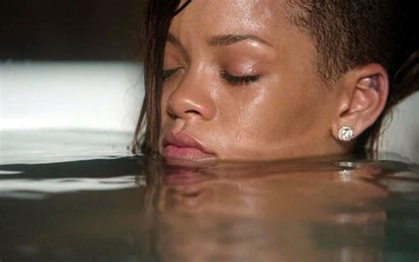 rihanna bathtub scenes from rihanna s stay video zimbio