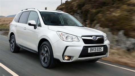 subaru forester subaru forester review top gear