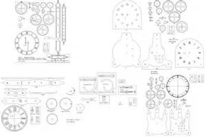pdf free wood clock plans plans free