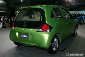 honda brio car images all new honda brio eco car makes world premiere debut in