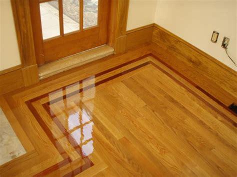 hardwood floor with border hardwood floor border and feature