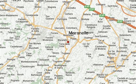 maranello italy map of italy maranello travelquaz com