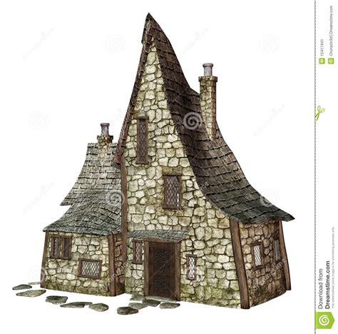 Old English Cottage House Plans La Maison 1 De La Sorci 232 Re Image Stock Image 15417441