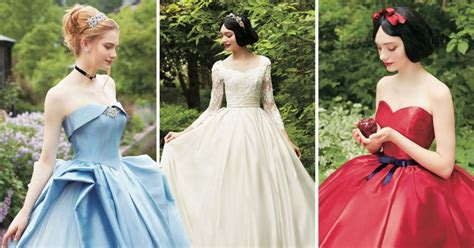 Bridal Concept Wedding Gowns by Disney Princes Bridal Gowns Will Make Your Tale