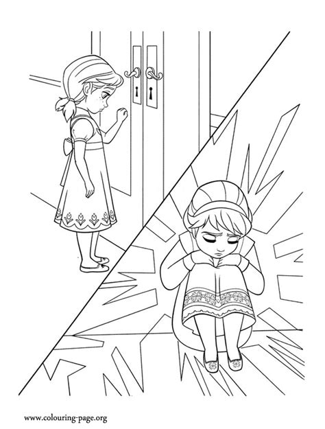 frozen ana coloring sheet coloring pages