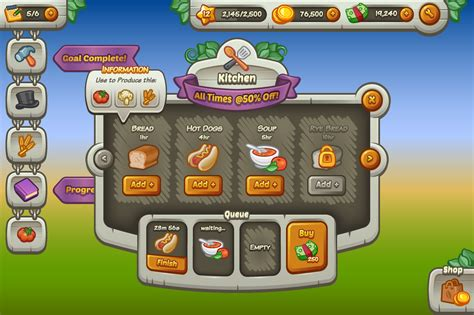 complete mobile game ui kit graphics on creative market