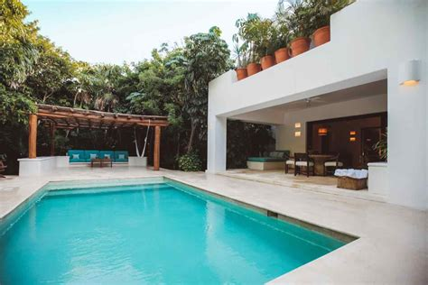 Cottage With Pool by Hotel Esencia Two Bedroom Cottage With Pool