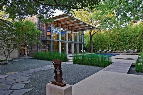 modern backyard landscaping modern landscaping dallas tx photo gallery