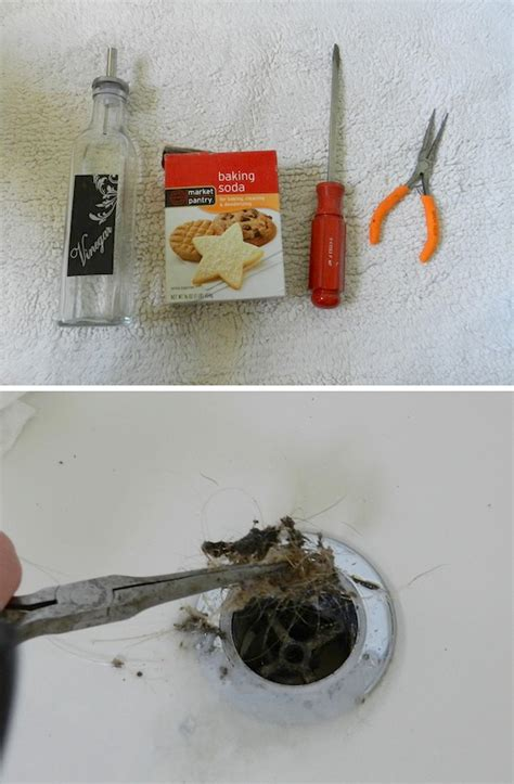 how to get hair out of a sink drain 55 must read cleaning tips tricks and hacks for the
