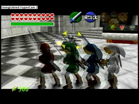 Link Time Fabsugar Want Need 49 by 4 Sword Vs Link Oot Avi