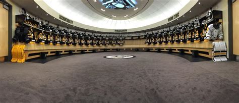penguins in the room heinze all equipment manager for the of hockey
