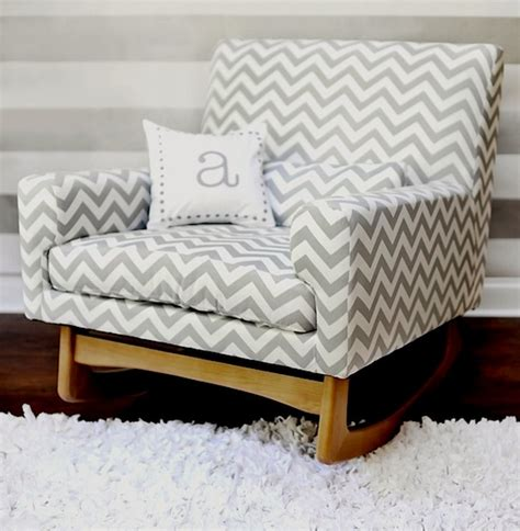Padded Rocking Chairs For Nursery Upholstered Rockers For Baby S Nursery Kidspace Interiors
