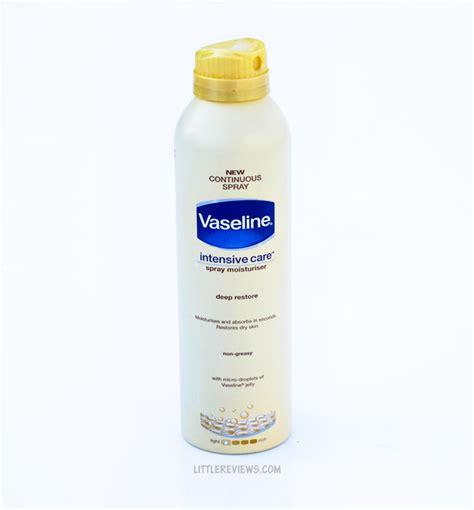 Vaseline On Detox by Vaseline Intensive Care Restore Spray Moisturizer