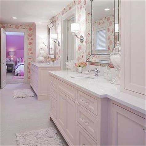 Pink Bathroom Cabinet pink bathroom design ideas