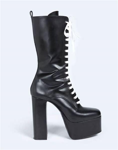 mens platform boots dsquared mens platform boots for the guys high heel place