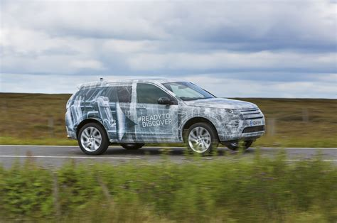 land rover discovery sport third row land rover discovery sport teased getting third row