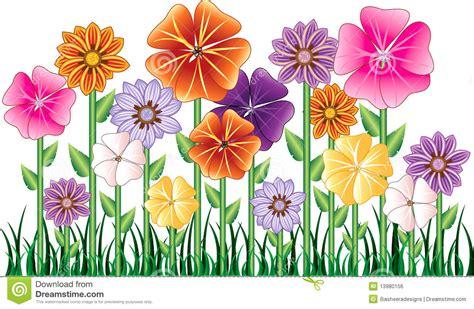 L Use An Blumen 4425 by Blumen Garten Vektor Abbildung Illustration Gras