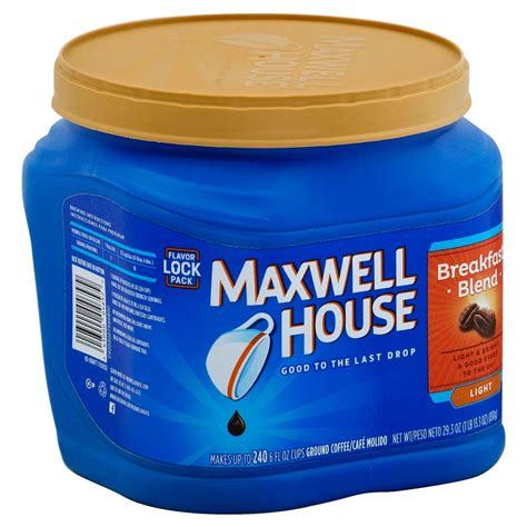 Maxwell House by Upc 043000046579 Maxwell House Ground Coffee Breakfast