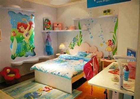 ariel bedroom little mermaid themed bedroom mermaid bedroom