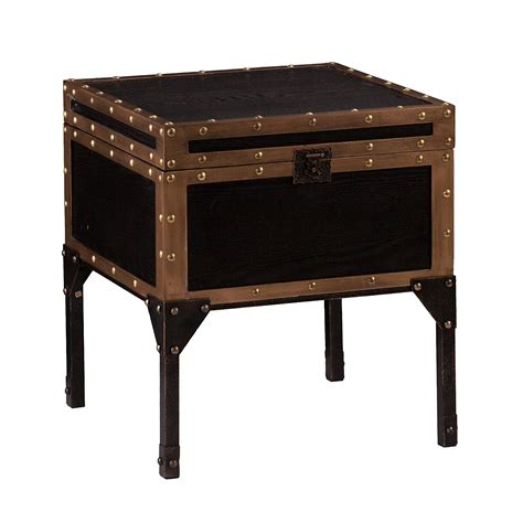Trunk Side Table Trunk End Table Home Furniture Design