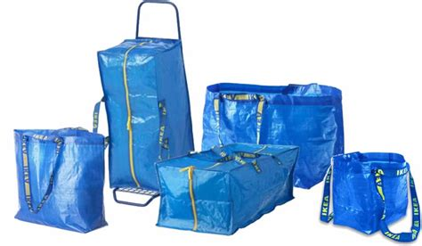 ikea bags household items that double as kit