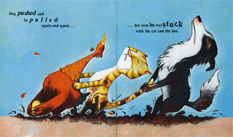 stuck picture book garry parsons illustration