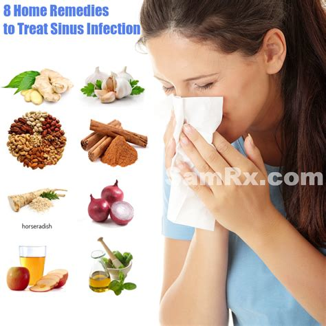 8 home remedies to treat sinus infection