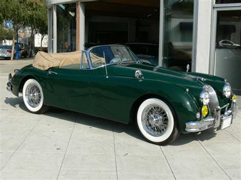 jaguar xk roadster 1957 jags