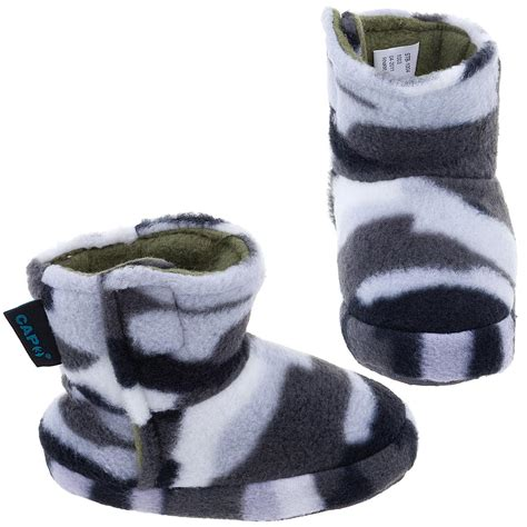 slippers for toddler boys gray camo bootie style slippers for toddler boys