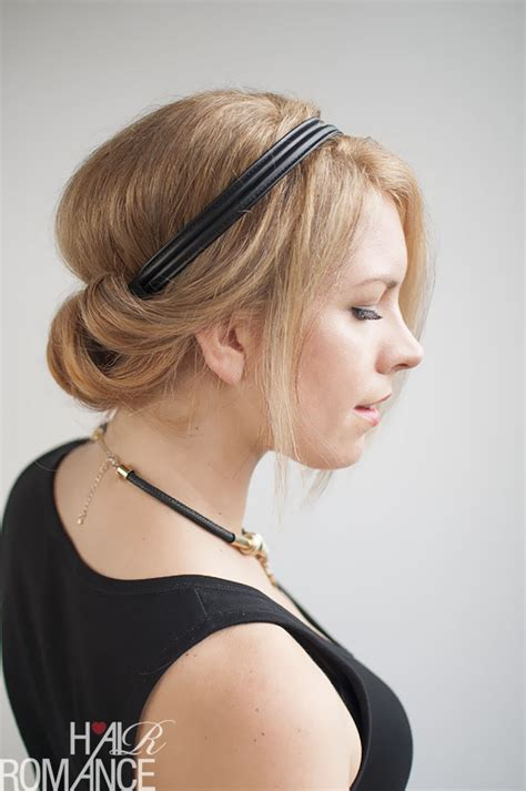 how to keep your hair behind your back how to do a chic rolled updo hair romance