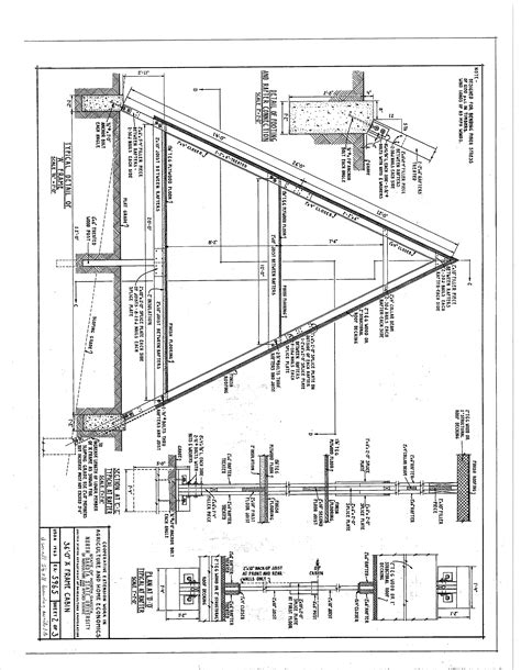 a frame blueprints 36 a frame house plans page 2 sds plans house plans