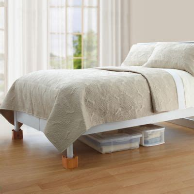 bed bath and beyond bed risers buy bed risers from bed bath beyond