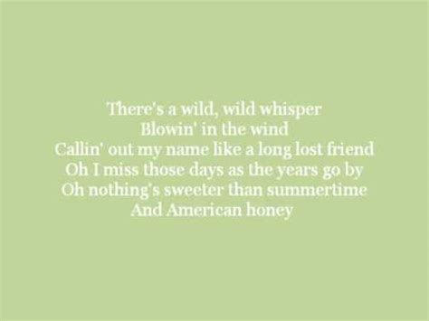 american honey antebellum lyrics