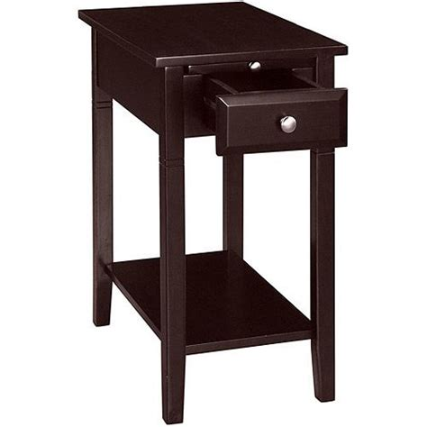 Recliner Side Table New Visions By Easton Recliner Side Table Espresso Espresso Furniture And Side Tables
