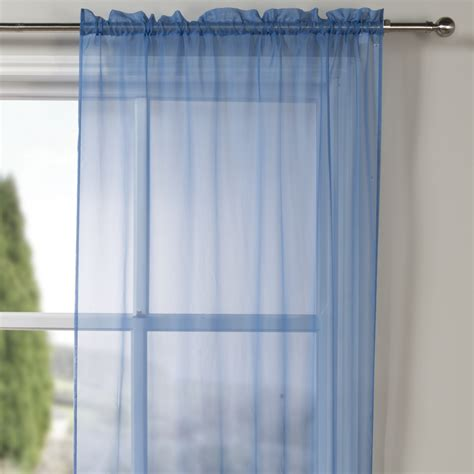 sheer blue curtains blue sheer curtain