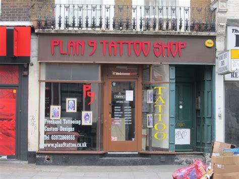 tattoo shop london victoria plan 9 tattoo shop