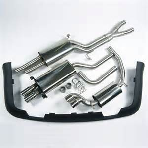 Exhaust System For Audi A8 Mtm Exhaust Cat Back Audi W12 6 0 Qu 4 Pipe Audi A8 6 0