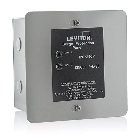 surge protector lights meaning leviton 51120 1 panel protector 120 240 volt circuit