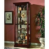 logan sliding door curio cabinet 17 best images about curio cabinets on shops