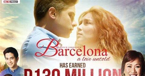 barcelona untold barcelona a love untold earns p130 million after five