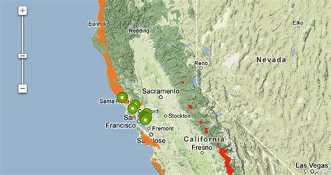 california map redwoods help research photograph south east parts of redwood range save the redwoods league