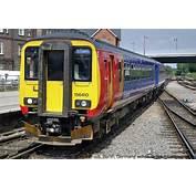 Derby East Midlands Trains EMT Class 156 DMU 156410