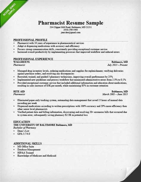 Cover Letter For Pharmacist Resume – pharmacist resume cover letter
