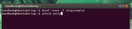 unity tutorial restart reset unity and compiz settings in ubuntu 14 04