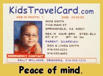 child id card template free pin by sonya derczo loudenberg on vacation getaway ideas
