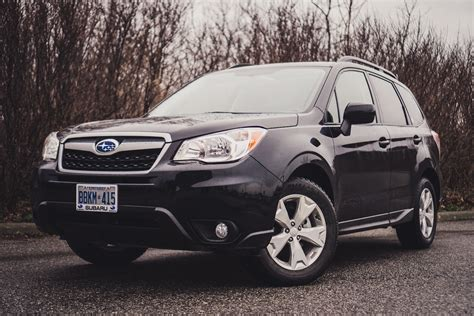 subaru forester 2016 black review 2016 subaru forester 2 5i touring canadian auto