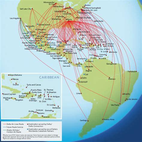 delta destination map airline route map delta airlines